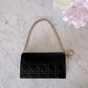 Satin Lady Dior Pouch